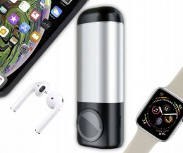 4A PowerBank 3w1 AirPods Apple Watch iPhone/iPad