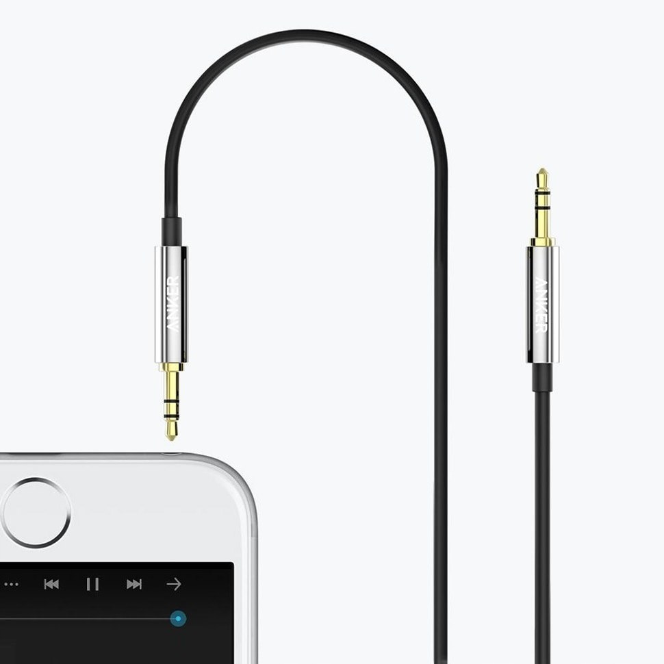 Anker Kabel Audio AUX 2x mini-JACK 3,5mm - 100 cm