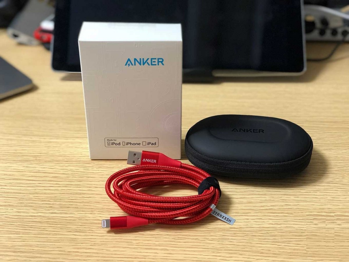 Anker PowerLine+ 1,8m iPhone SE 5 6 7 8 S X Xs Xr