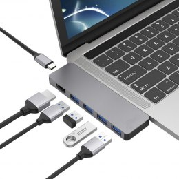 4Apple HUB 2x USb-C 4x USB HDMI 4K MacBook Pro